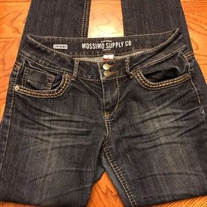 Mossimo Supply Co Blue Jeans Skinny size 9